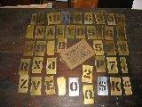 """2"""" brass stencils"""